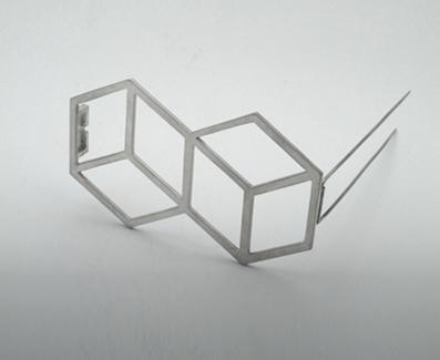 brooch Cubes - sege Kubikai