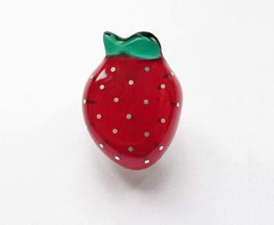 brooch Strawberry - Braske